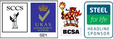 Sponsors - Steel for Life, SCCS, UKAS, BCSA