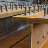 Shearstuds Composite Plate Girder - Fabrication - Ireland