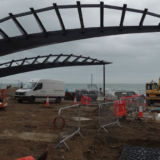 Bournemouth Pier Approach Leaf Structural Architectural steelwork - Fabrication - Bournemouth
