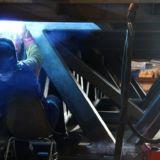 Pinning Platform Overhead welding complex fabrication - Fabrication - Ireland